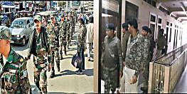 झारखंड चुनाव : शांतिपूर्ण मतदान की तैयारी, पूरे शहर में जवानों ने किया फ्लैग मार्च, देर रात तक खंगाले गये होटल और लॉज