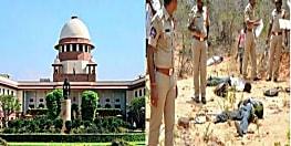 हैदराबाद एनकाउंटर : सुप्रीम कोर्ट में सुनवाई आज, पुलिसकर्मियों पर कार्रवाई की हुई है मांग