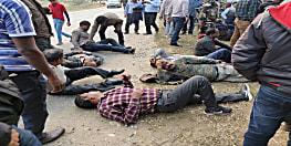 बड़ी खबर: रांची से सोनाहातु जा रहे मतदान कर्मियों की बस पलटी, कई घायल