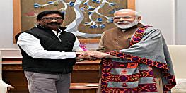 PM मोदी से मिले CM हेमंत सोरेन, झारखंड में ट्राइबल यूनिवर्सिटी शुरू करने की मांग