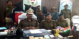 पुलिस को मिली बड़ी सफलता, अंतरराज्यीय लूटेरा गिरोह के 4 सदस्यों को किया गिरफ्तार