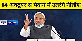 सब कुछ हो गया सेट, अब 14 अक्टूबर से मैदान में उतरेंगे नीतीश कुमार, ताबड़तोड़ चुनावी सभाओं में गरजेंगे जदयू अध्यक्ष