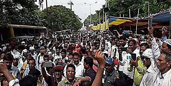 नियोजित शिक्षकों ने किया एलान, मुकदमा दायर करने के खिलाफ 14 सितम्बर को मनाएंगे प्रतिरोध दिवस