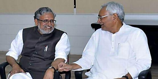 बैकफुट पर सुशील मोदी..... नीतीश कुमार को एनडीए का कैप्टन बताने वाले ट्ववीट को आनन-फानन में  किया डिलिट