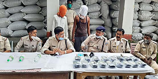 रांची पुलिस को मिली बड़ी सफलता, 100 बोरा डोडा और 17 किग्रा अफीम बरामद