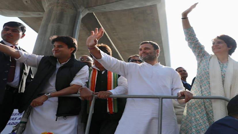 लखनऊ के रोड शो में बोले राहुल गांधी - यूपी में कांग्रेस की सरकार बनाना लक्ष्य, हर प्रदेश में फ्रंटफुट पर खेलेंगे