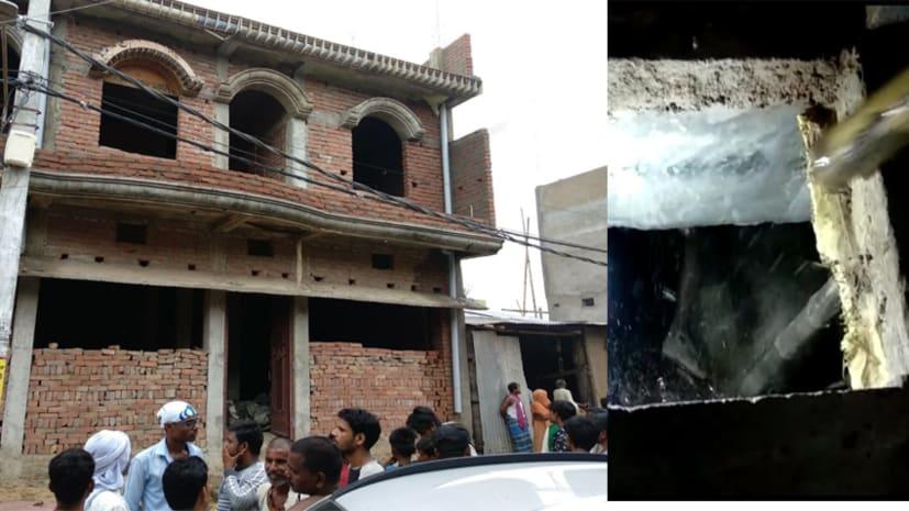 निर्माणाधीन मकान में लाश मिलने से फैली सनसनी, छानबीन में जुटी पुलिस