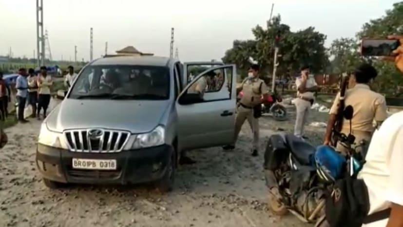 भागलपुर में दो गुटों में गोलीबारी, सीमेंट लोड करने को लेकर हुआ विवाद