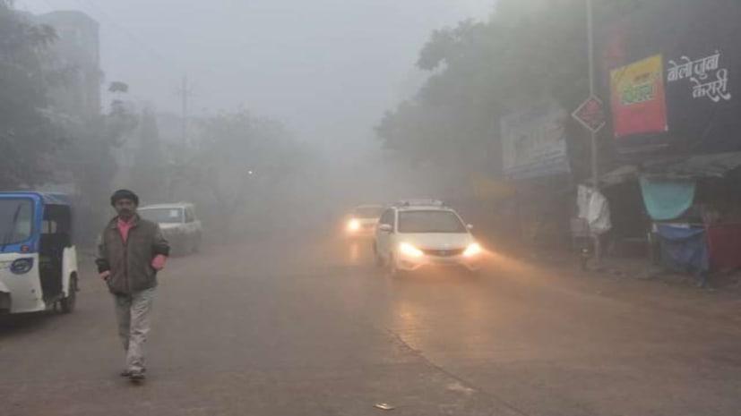 बिहार में कोहरे का कहर जारी, 17 दिसंबर से कड़ाके की ठंड पड़ सकती है, यातायात पर पड़ेगा असर