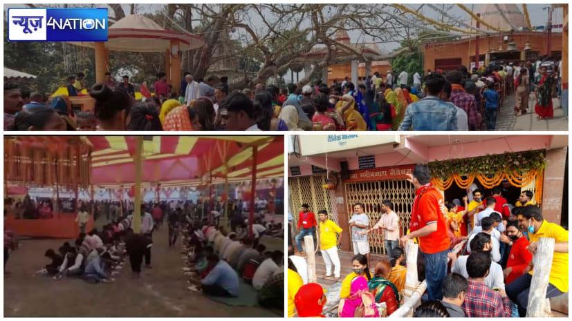 बिहार में महाशिवरात्रि पर शिवालयों में खास रौनक, भक्तों ने लगाए हर-हर-महादेव के नारे