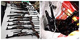 AK 47 की तलाश में खाक छान रहे SP, कुएं में सर्च अभियान को लेकर बनायी गोताखोरों की टीम
