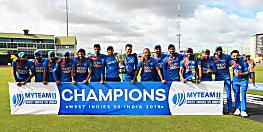भारत ने वेस्टइंडीज़ को 7 विकेट से हराया , किया क्लीन स्वीप