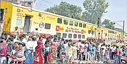 टला बड़ा हादसा : पटरी से उतरी डबल डेकर ट्रेन, बाल-बाल बचे यात्री