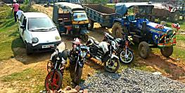 पुलिस ने वाहन चोर गिरोह का किया पर्दाफाश, चोरी के वाहन सहित तीन को किया गिरफ्तार