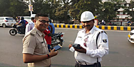 पुलिस भी नहीं करती ट्रैफिक नियमों का पालन! पटना में थाना प्रभारी का कट गया चालान, जानिए पूरी खबर