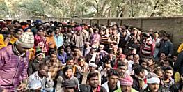 नगर निगम के दैनिक वेतनभोगियों की हड़ताल 8 वें दिन भी जारी, गया में किया जमकर हंगामा