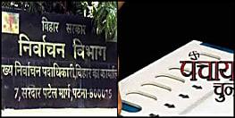 बिहार निर्वाचन आयोग ने पंचायत प्रतिनिधियों के चुनाव को लेकर तारीख का किया ऐलान, जानिए शेड्यूल.....