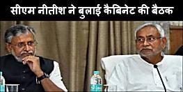 CM नीतीश ने बुलाई कैबिनेट मीटिंग, चुनाव से पहले कई महत्वपूर्ण एजेंडों पर लगेगी मुहर