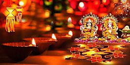 पूरे देश में दीपों का त्योहार दीपावली की धूम, रंग बिरंगी रोशनी से नहाया शहर