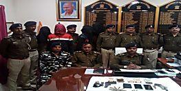 बेगूसराय पुलिस को मिली सफलता, कारोबारी हत्याकांड के 2 आरोपी सहित कई अपराधी गिरफ्तार