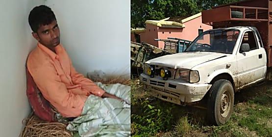 वीटीआर में कीमती लकड़ियों की तस्करी : सागवान के साथ पिकअप का चालक गिरफ्तार