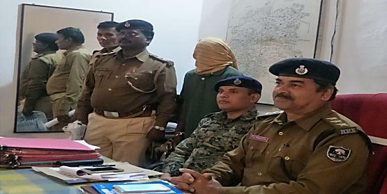 जहानाबाद पुलिस को मिली बड़ी सफलता, हार्डकोर नक्सली मुखिया रविदास गिरफ्तार