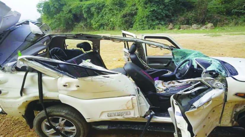 दर्दनाक सड़क हादसे में दो की मौत, दो घायल