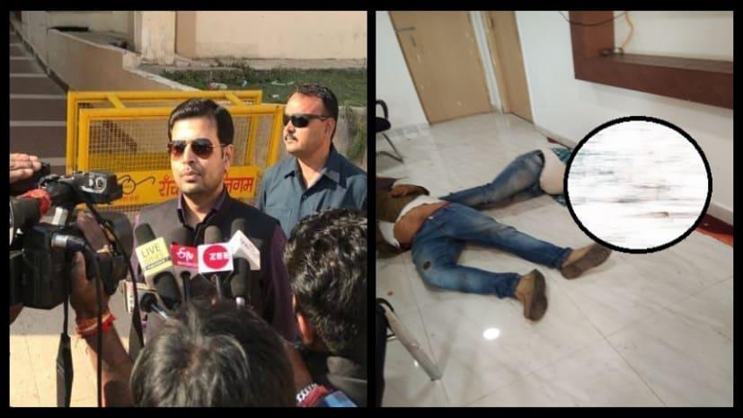 न्यूज चैनल के ऑफिस में मिली दो सगे भाइयों की लाश, आरोपी RJD नेता लोकेश चौधरी फरार