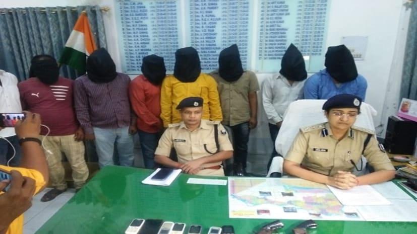 पांच किलो सोना लूटने की फ़िराक में थे अपराधी, चढ़े पुलिस के हत्थे