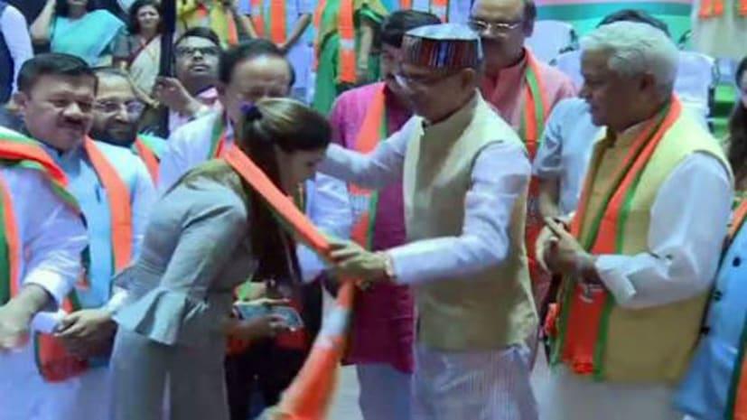 डांस के बाद अब राजनीति में कमाल दिखायेंगी सपना चौधरी, बीजेपी के साथ आज से शुरु की सियासी सफर