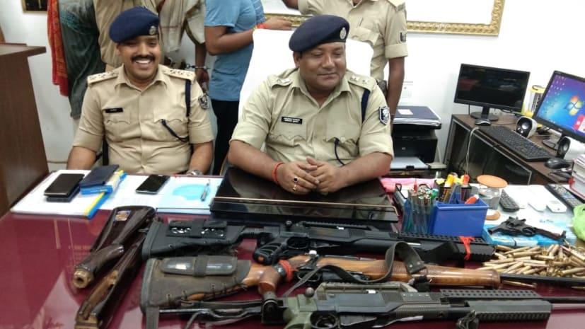 बड़ी खबर : बालू माफिया सुनील यादव अपने तीन गुर्गों के साथ गिरफ्तार, कई हथियार और 15 लाख रुपये बरामद