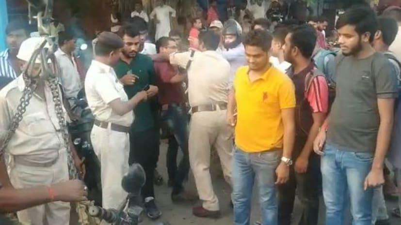 """पटना के ट्रैफिक इंस्पेक्टर की गुंडागर्दी से परेशान हैं राजधानी वासी... """"हुजूर"""" निरीह जनता से बदसलूकी पर कोई दंड निर्धारित है या नहीं?"""