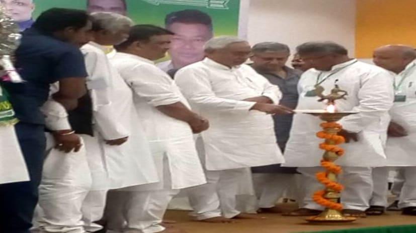 बीजेपी के खिलाफ सीएम नीतीश ने भरी हुंकार,कहा- झारखंड का सही तरीके से नहीं हो रहा विकास...राज्य की तरक्की के लिए दिए 5 मंत्र
