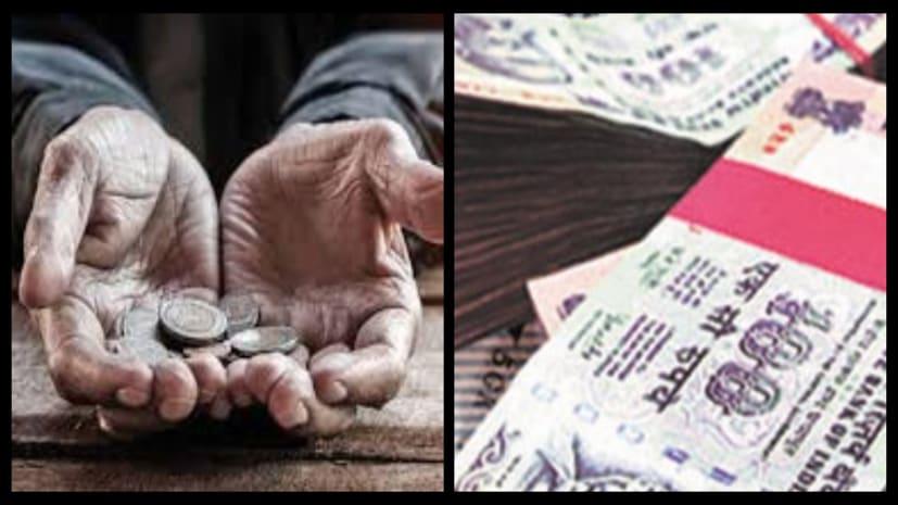 गजब : भिखारी के घर पुलिस को मिले इतने पैसे, गिनने में लगे 8 घंटे