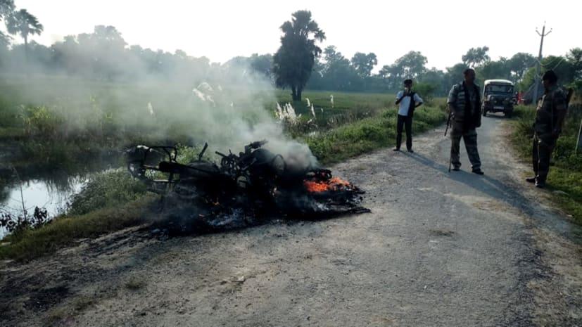 जहानाबाद में दो पक्षों में हुई जमकर मारपीट, सात व्यक्ति घायल, दो बाइक भी किया आग के हवाले