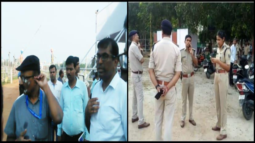 दशहरा पर पटना के गांधी मैदान में सुरक्षा के पुख्ता इंतजाम, कल शाम 5 बजे होगा रावण दहन