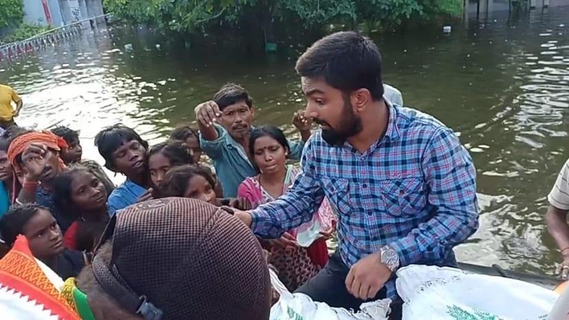 आपदा को लेकर बेतिया के मनीष कश्यप का विडियो वायरल, सात दिनों में दस करोड़ लोगों ने देखा