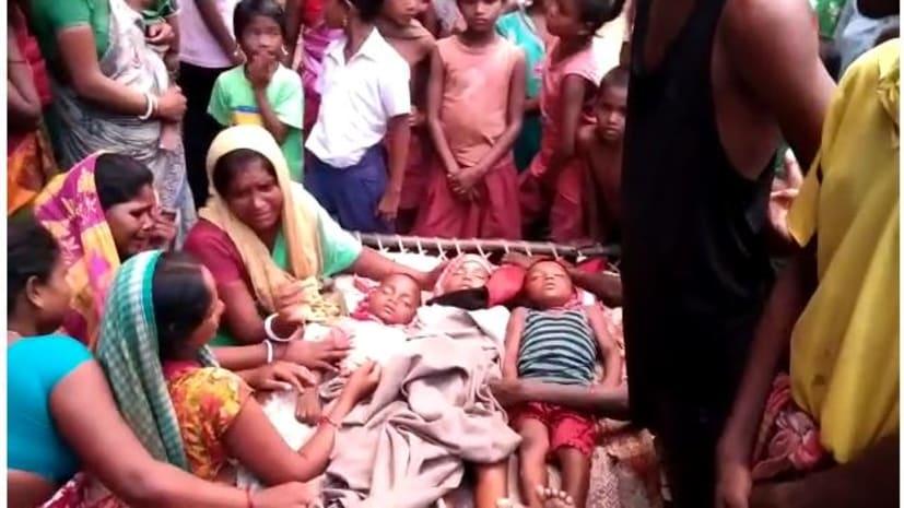 कटिहार में दर्दनाक हादसा, नदी में डूबने से 5 बच्चों की मौत