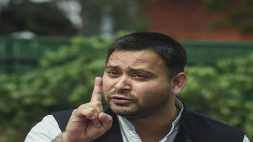 तेजस्वी यादव ने नीतीश सरकार पर बोला हमला, कहा- कोरोना से लड़ाई में भगवान भरोसे बिहार की जनता
