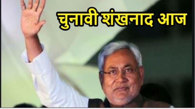 नीतीश कुमार आज करेंगे चुनावी शंखनाद, वर्चुअल रैली में युवाओं के लिए कह सकते हैं बड़ा ऐलान