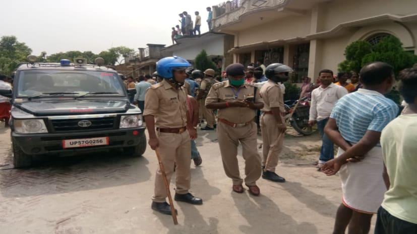 कुशीनगर में गोली मारकर युवक की हत्या, उग्र भीड़ ने हत्यारे को पीट-पीटकर मार डाला