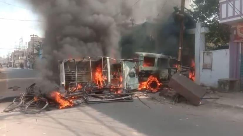 मुंगेर गोलीकांड में बड़ी कार्रवाई: जिला मुख्यालय के सभी थानाध्यक्षों और अफसरों को हटाया गया