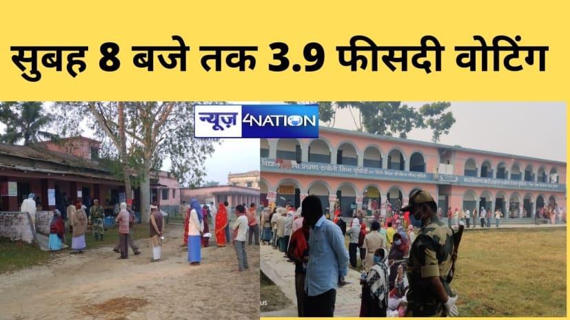 बिहार में अंतिम चरण का मतदान जारी,जानिए पहले घंटे की वोटिंग प्रतिशत.......