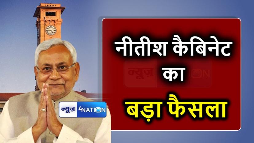 बिहार कैबिनेट की बैठकः आज की मीटिंग में सरकार ने लिए कई महत्वपूर्ण निर्णय,जानें....