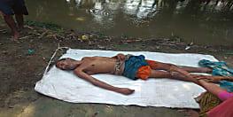 नवगछिया में नदी में डूबने से शख्स की मौत, पैर फिसलने के कारण हादसा