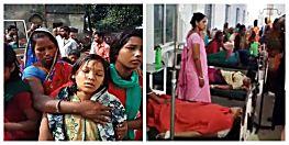 छेड़खानी का  विरोध करने पर ग्रामीणों ने छात्राओं को जमकर पीटा, 50 से अधिक बच्चियां गंभीर रुप से घायल