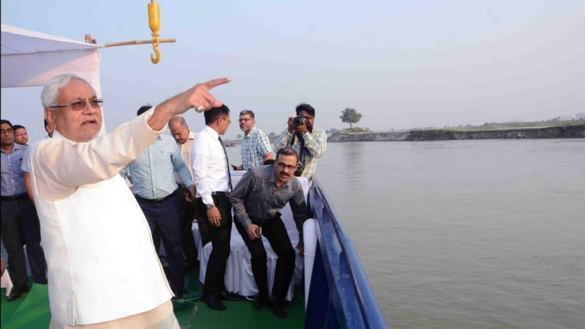 सीएम नीतीश के ड्रीम प्रोजेक्ट पर काम शुरू, गंगा नदी के पानी को राजगीर,नवादा और गया ले जाने के लिए प्लान हो रहा तैयार