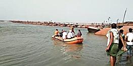 पटनासिटी में गंगा नदी में डूबा युवक, आक्रोशित लोगों ने किया सड़क जाम