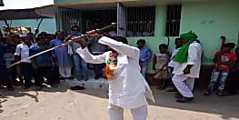 .......जब नीतीश के मंत्री ने थाम ली तलवार..फिर हैरत में पड़ गए सारे लोग
