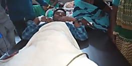 युवक को छिनतई के दौरान अपराधियों ने मारी गोली, अस्पताल में चल रहा है इलाज
